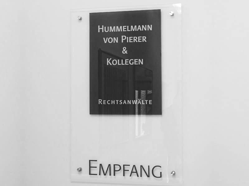 Empfang Hummelmann